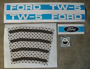 Tw-5 Ford Pedal Tractor Decal Set Ertl Toy Free Ship Computer Cut