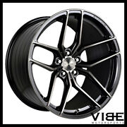 19 Stance Sf03 19x8.5 Black Forged Concave Wheels Rims Fits Acura Tl