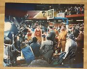 Angelo Pizzo And David Anspaugh Signed 8 X 10 Photo Auto Hoosiers Movie Indiana
