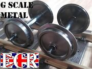 G Scale 45mm Gauge Metal 30mm Diam Wheels For All Train Inc Piko And Nqd Railway