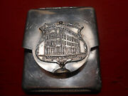 Vintage Planters Bank Building Rocky Mount N.c. Matchbook Holder With Matches