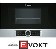 Bosch Ber634gs1 Built-in Microwave With Grill Stainless Steel