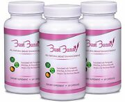 3 Month Supply Bust Bunny Breast Enhancement/all Natural Breast Pills