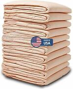 100 Disposable Incontinence Underpads 30x36 Large Quilted Bed Pads Pee Pads