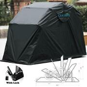Quictent Motorcycle Cover Shelter Bike Shield Storage Waterproof Heavy Duty Shed