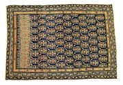 4and039x5and039 Malayer Paisley Handmade Antique Rug Ca.1890 - Free Shipping