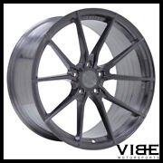 20 Vertini Rf1.2 Titanium Concave Wheels Rims Fits Ford Mustang Gt Gt500