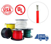 4 Awg Marine Wire Spool Tinned Copper Battery Boat Cable 50 Ft. Red Made In Usa