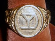 Gold Wwi Us Army 104th Infantry Regiment 26th Division Yankee Division Ring
