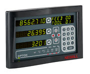 New Newall Dp700 2axis Digital Readout Dro For Milling
