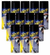 Plasti Dip Performix 12 Pack Black 11oz Spray Can Rubber Handle Coating