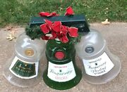 Large Vintage Tanqueray Gin And Vodka Bells Liight Set