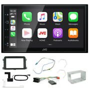 Vw Tiguan 2007 6.8andldquo Touch Screen Dvd Carplay/android Dab Bluetooth Stereo Kit