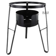Heavy Duty High Stand 27 Portable Cast Iron Outdoor Stove Camping Burner Comal