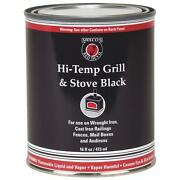 12 Pk Meeco´s Red Devil Black 16 Oz Barbecue Grill And Stove High Heat Enamel 403