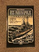 11 Uss Indianapolis Survivors Signed Poster 12x18 Wwii World War Ii 70th Ann