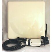 50dbm Long Range Wifi Booster Antenna Stand-alone Repeater + 16' Cable 802.11n