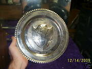 Usafe 7272 Supply Sqdn Silver Plate 56 -58 N.africa
