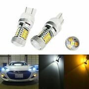 High Power Amber/white 3157 Switchback Projector Led Bulbs For Turn Signal Light