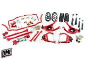 68-72 Chevelle Umi Performance Suspension Kit 2 Drop Coilovers Red Stage 3.5