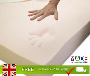Orthopaedic Memory Foam Mattress Topper | 1- 4 Thick | With Or Without Cover