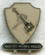 Sterling Wwii Us Army 7th Corps Area Quartermaster Motor Transport School Di