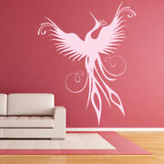 Phoenix Rising Mythical Birds Wall Decal Sticker Ws-17627