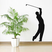 Tiger Woods Wall Sticker Golf Wall Decal Sports Bedroom Home Decor