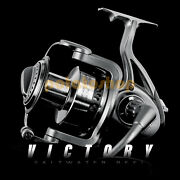 Offshore Big Game Fishing Spinning Reel 9+1bb Saltwater Heavy Duty 8000-11000