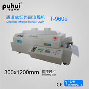 New Led T960e Reflow Oven Bga Smt Sirocco And Rapid Infrared Soldering Machine