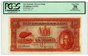New Zealand Andhellip P-154 Andhellip 10 Shillings Andhellip 1934 Andhellip Vf
