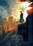 Fantastic Beasts And Where To Find Them Cast Signed 16x12 Photo Aftal 3