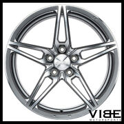 19 Ace Aff01 Flow Form Silver Concave Wheels Rims Fits Cadillac Cts V Coupe
