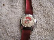 Vintage Helbros 17 Jewels Jerry Lewis Character Watch