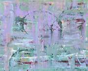 2 Abstracts Original Fine Art Paintings Dan Byl Contemporary Modern Huge 4x5ft
