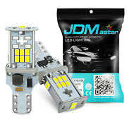 6000k White 921 912 High Power 18smd Led Backup Lights Bulbs Back Up Replacement