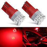 4x T10 High Power 5630 Smd Led Lights Bulb For Interior Map Dome4pcspure Red