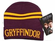 Harry Potter Gryffindor Cosplay Costume Warmth Hat Beanies Cap New