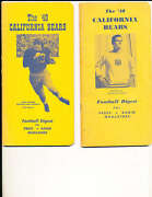 1948 California Football Guide Only Listed Cfbmg1