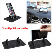 Adjustable Car Dash Mount Silicon Pad Holder Cradle For Cellphone Iphone Samsung