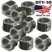 10 Steel Universal Weld On Roll Bar Clamp 2.25 Bar Cage Fabrication Cooler Mt 4b
