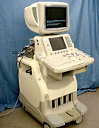 Ge Logiq 7 Ultrasound Portable/mobile System With Printer And Video Recorder