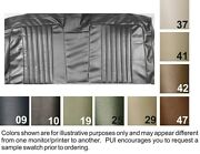 1971-72 Chevrolet Concours And Malibu 4 Door Wagon Tan 3rd Row Seat Cover - Pui