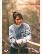Jodie Foster Signed Silence Of The Lambs 11x14 Photo Psa/dna Coa Auto'd Picture