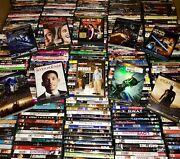 Lots Of 50 Used Assorted Dvd Movies 50-bulk Dvds Lot Wholesale Lots 750+ Msrp