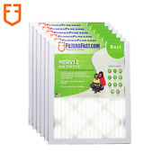 Filters Fast 1 Home Air Filters Merv 13 - Case Of 6 Filters Made In The Usa