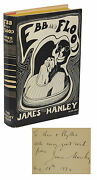 Ebb And Flood Signed By James Hanley First Edition 1st Printing 1932