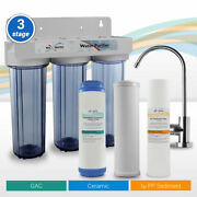 Three Stage Ceramic Water Filter Home Drinking Purifier