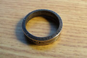 Mens Rings Size 9 German Reichmark Pre 1939 Silver Reichmarks Silver-coin Ring-