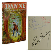 Danny Champion Of The World Signed By Roald Dahl Jeremy And Sam Irons Association